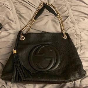 Gucci Leather Soho Medium Bag